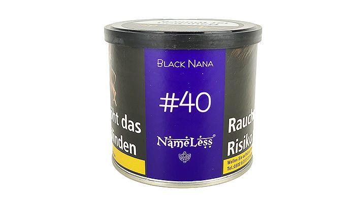 NameLess Tobacco #40 Black Nana
